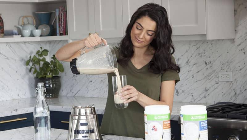 herbalife formula 1 plant based protein shakes